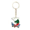 保加利亚 海豚锌合金钥匙扣